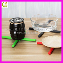 Chinese Supplier As Seen On TV DIY Multi-use Foldable Silicone Rubber Trivet