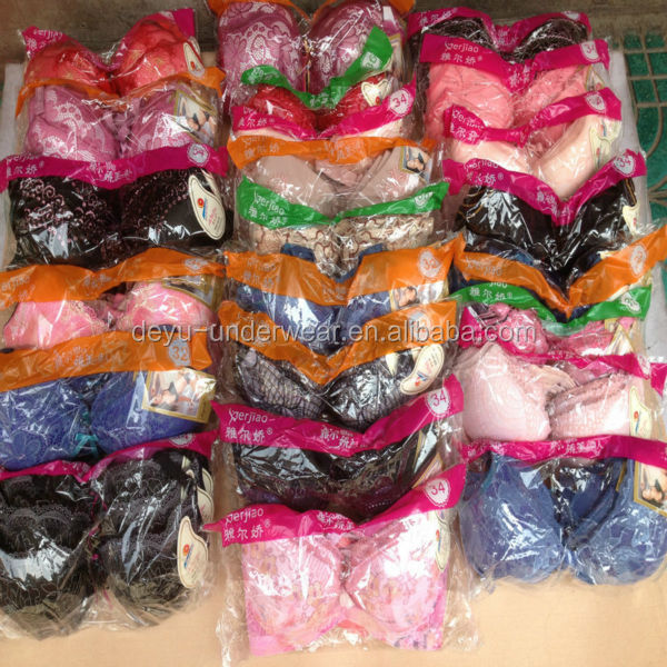 0.53USD African Like Most 3 Hooks Of Cheap Embroidered Assorted Designs/Size Sexy Indian Women Bra Photo (kczk016)