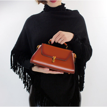 Women Hand Bags 2017 New Model China Supplier Handmade Small Fashion Genuine Leather Shoulder Bags Handbag