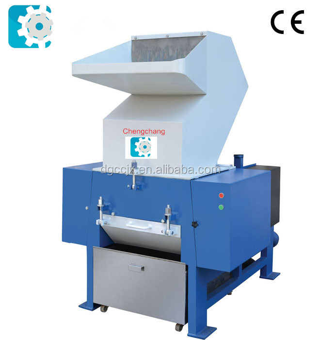 Double shaft scrap plastic shredder machine for PVC pipes