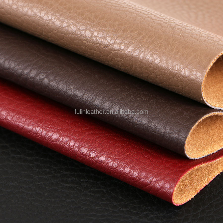 1.2mm artificial semi-PU leather for office furnitures, sofas, dining chairs