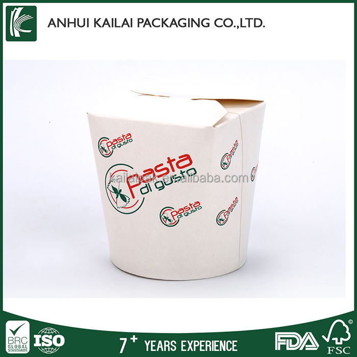 wholesale eco-friendly recycled take away noodle box paper food box food container