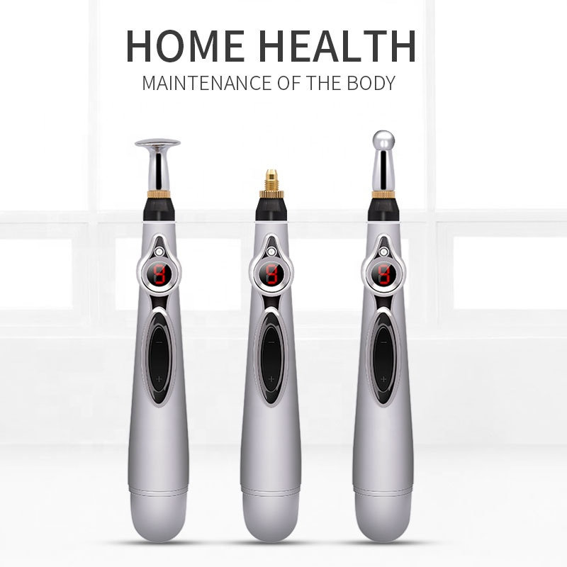 2019 health care monitor meridians laser acupuncture meridian therapy instrument acupuncture stimulator pen