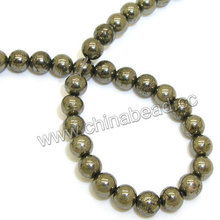Wholesale stone 2mm beads pyrite for sale