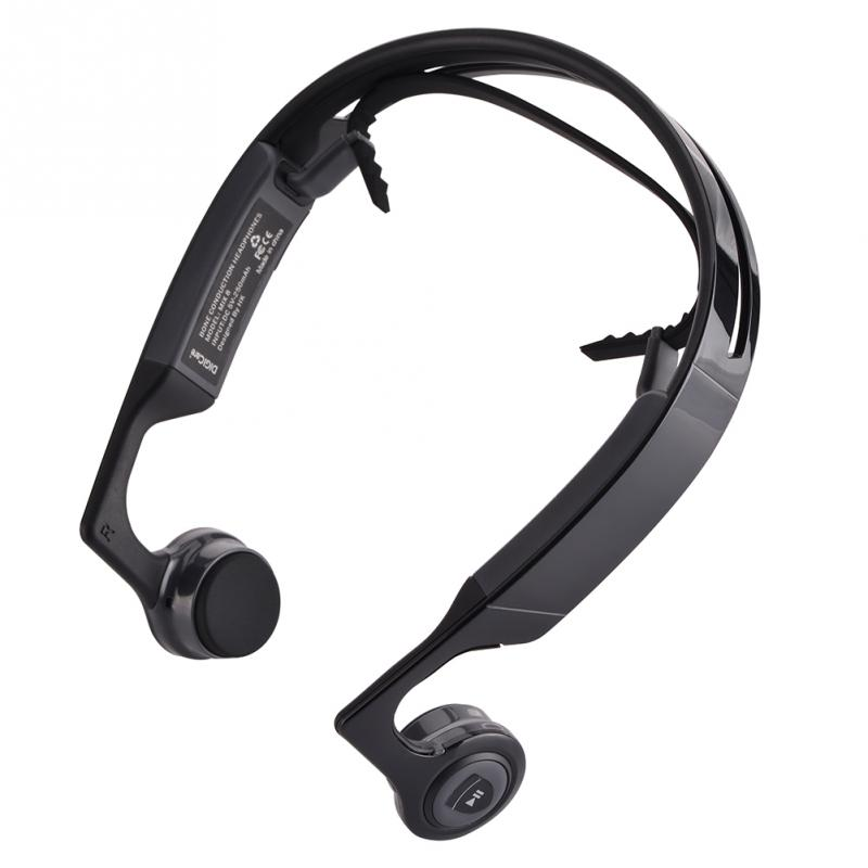 NOISE cancelling portable bluetooth 4.1 Bone conduction Headphone Headset earphone for Sport wireless headset
