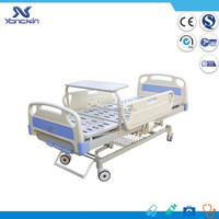 YXZ-C-013 Three cranks manual hospital bed/ ABS headfoot board