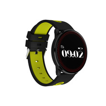 2018 Best waterproof IP67 smart watch with touch screen Fitness wristband CF007