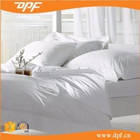 Single Size Cotton White Hotel Bedding