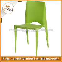Best selling products Outdoor Plastic Stakable Chair / Cafe Dining Chair