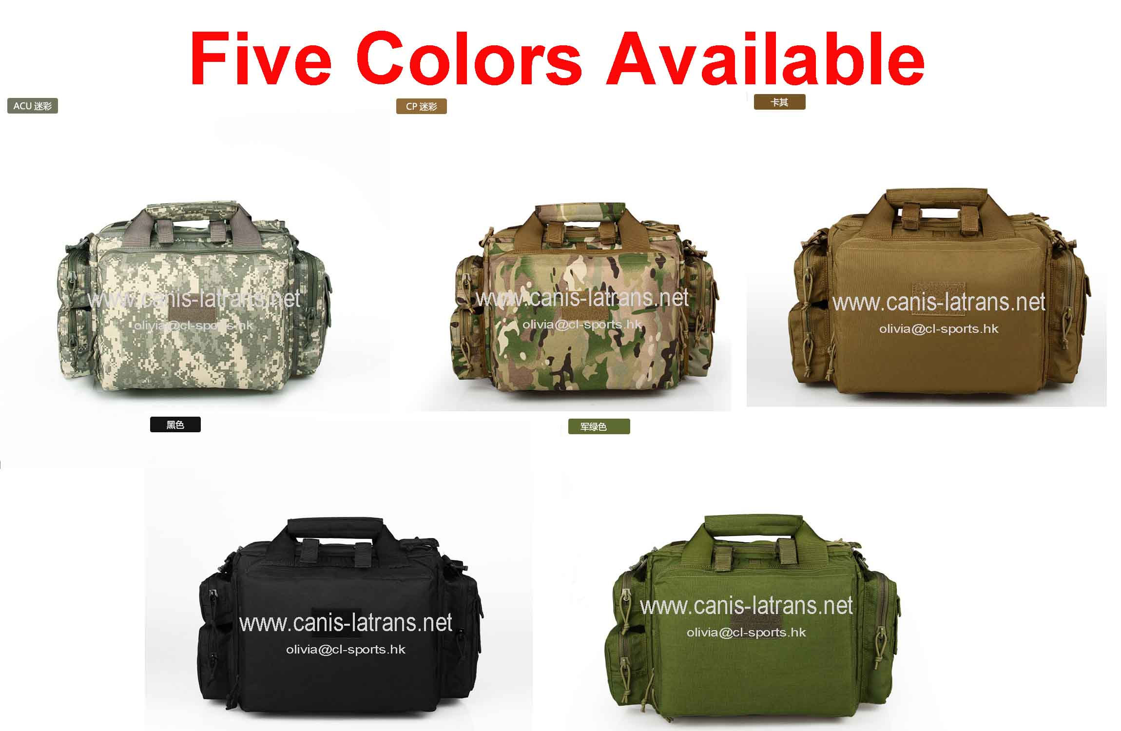 5 colors 1000D cordura hunting tactical gear trekking pack military man one shoulder bag backpack for sale CL5-0036