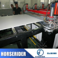 wpc foaming sheet extrusion line