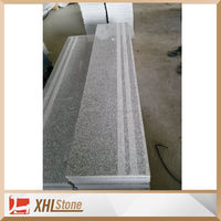 New G603 bacuo white Step Riser Polished Granite Stairs