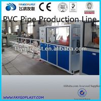 One-for-Four PVC threading pipe extrusion line
