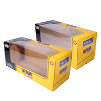 paper led light packaging box led bulb paper box with pvc window