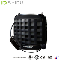 2016 SHIDU 2.4G wireless portable PA voice amplifier, recommended for teachers