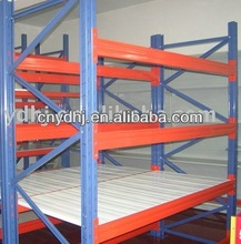 YD-003 300KG Capacity Rack Warehouse Roller Rack System Racking Shelf With CE&IS09001:2000 Made In China