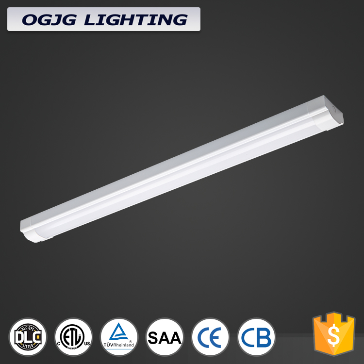commercial dimmable 80W utility 8 foot led strip lamp fitting