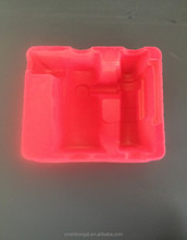 flocked blister blister packaging tray plastic blister tray