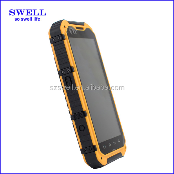 High-end Fashion IP68 mobile phone A9 GPS NFC industrial ex mobile phones