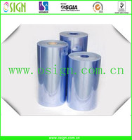 clear transparent rigid pvc roll /rigid pvc sheet