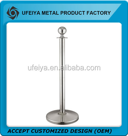 Stainless Steel D51 Queue Barrier Stand