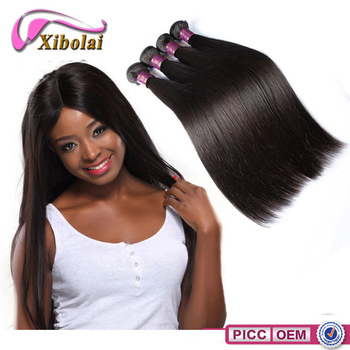 Fashionable hair weft top quality 5a grade brazilian hair