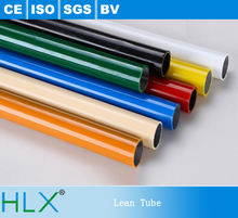 Top Quality coated pipe lean tube for racking system with CE certificate