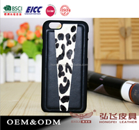 New combination Mobile case for iPhone 6 leather back cover