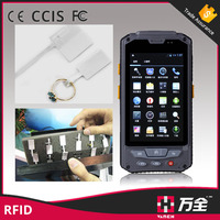 Handheld terminal Android 4.2 rugged PDA 4.3'' portable UHF RFID reader and writer