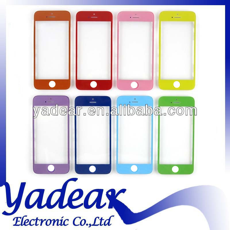 2014 Made in china glass cover for iphone 5s screen
