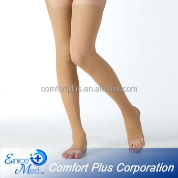 Free sapmle thigh high knee high Compression stockings series