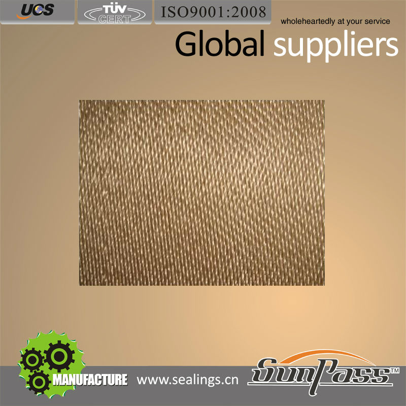 Electrical Insulation Satin Heat Reflective Fabric Heat Treated Glass Fiber Cloth