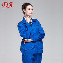 Women 2 piece safety workers overall uniforms