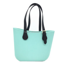 New alibaba china Classic women bags bag beach bag style handles ladies Silicone Rubber Waterproof beach handbag women 2017