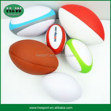 High Quality Wholesale PU Foam Stress Mini Rugby Ball