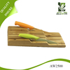2016 New design type bamboo knife block with best quality and low price