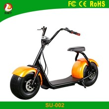High power 12AH battery capacity 1000w halley electric scooter with seat for adults
