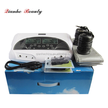 Home use dual system ion detox foot spa machine with bamboo charcoal infrared waistbands