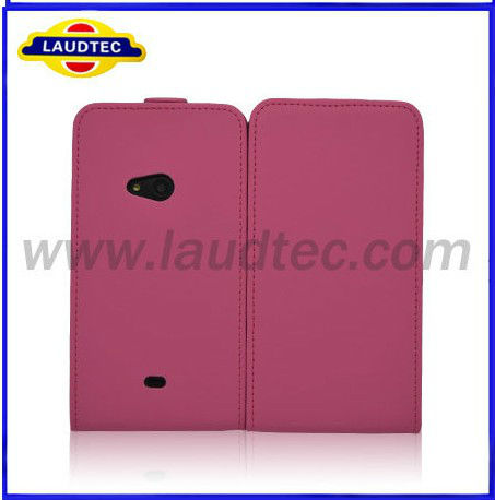 Laudtec Hot Selling Leather Flip Case Pouch Cover for Nokia Lumia 625 Mobile Phone Bags