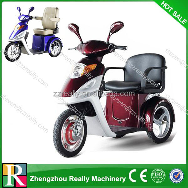 china famous three wheel electric tricycle mobility scooter