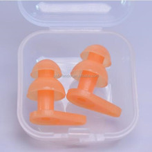 Colorful Reusable diving Earplugs Waterproof Soft Silicone Ear Plugs for Swimming Surfing Bathing Showering Ear