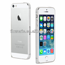 FL3378 Guangzhou high quality full aluminum metal ultra thin slim frame bumper case cover for apple iphone 5 5G 5s