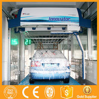 Multifunctional automatic touch free car wash service station equipment with CE IT962
