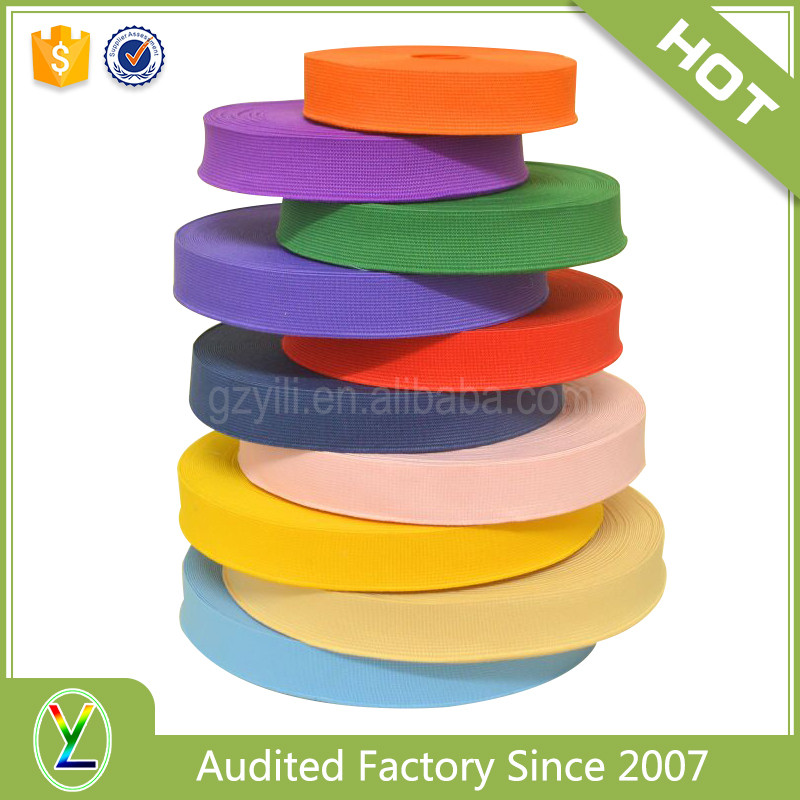 Wholesale custom 1 1/2 inch colored woven elastic