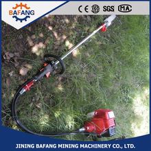 Petrol Gasoline engine garden tree prunners long chain saw wooden cutting machine