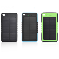 2016 portable mini outdoor environmental protect solar emergency mobile phone charger / power bank