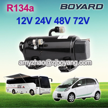 r134a electric vehicle ac compressor for vehicle rooftop air conditioning system
