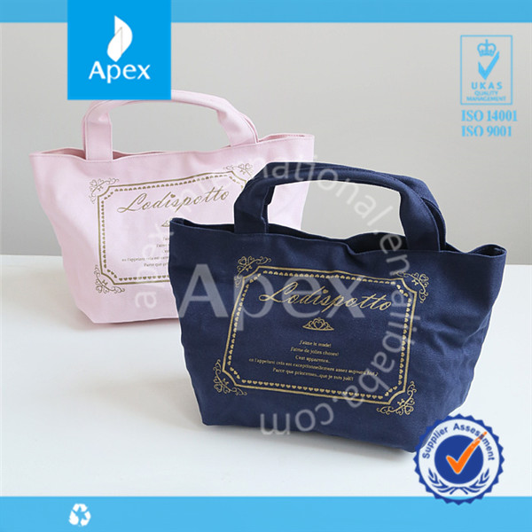 2014 spring & summer canvas fashion women bags