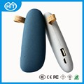 Fashionable design Portable Charger External Battery mobile stone power bank 2600mah