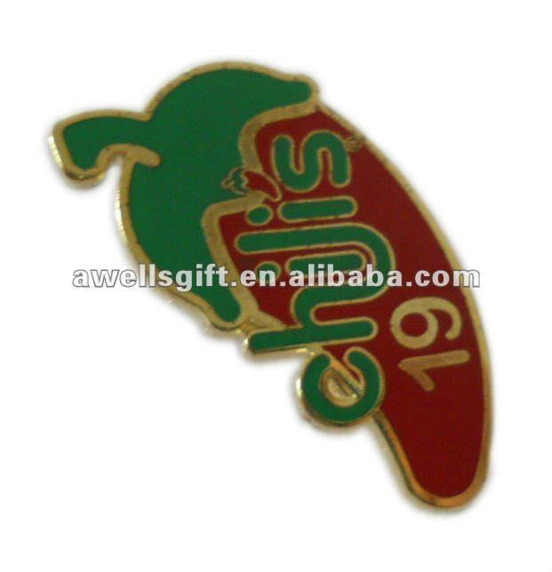 pin badge with soft enamel